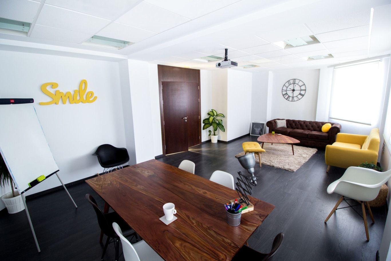 Pin De Carlos Ferro Pozo En Coworking Pinterest Acogedor  # Muebles Oficina Cox