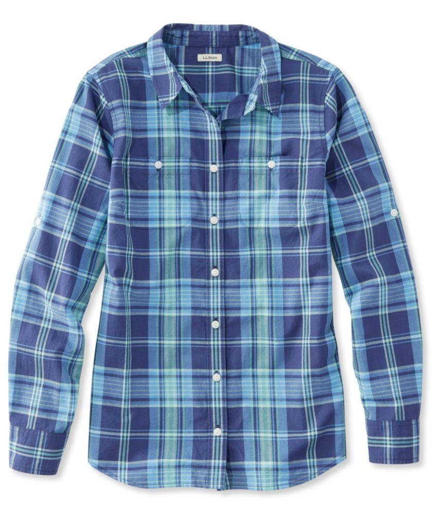 f725d1756e123 L.L.Bean Madras Shirt