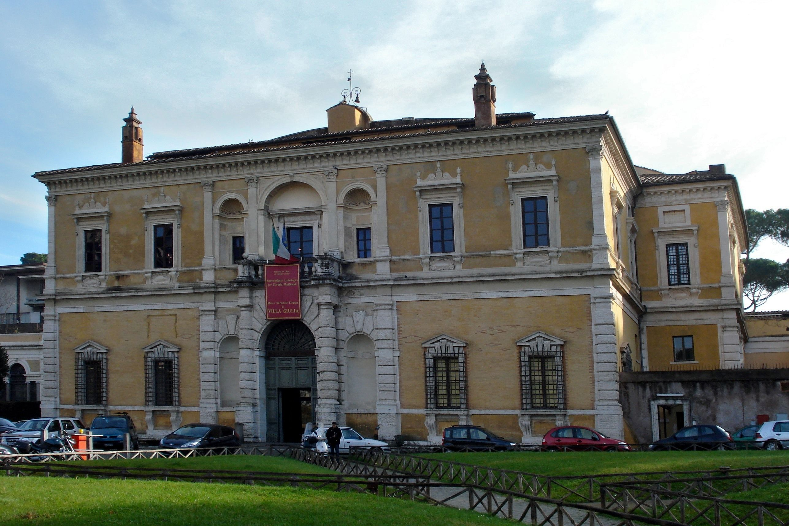 HIGH RENAISSANCE ARCHITECTURE The Origin Of Baroque Exterior View Villa Giulia