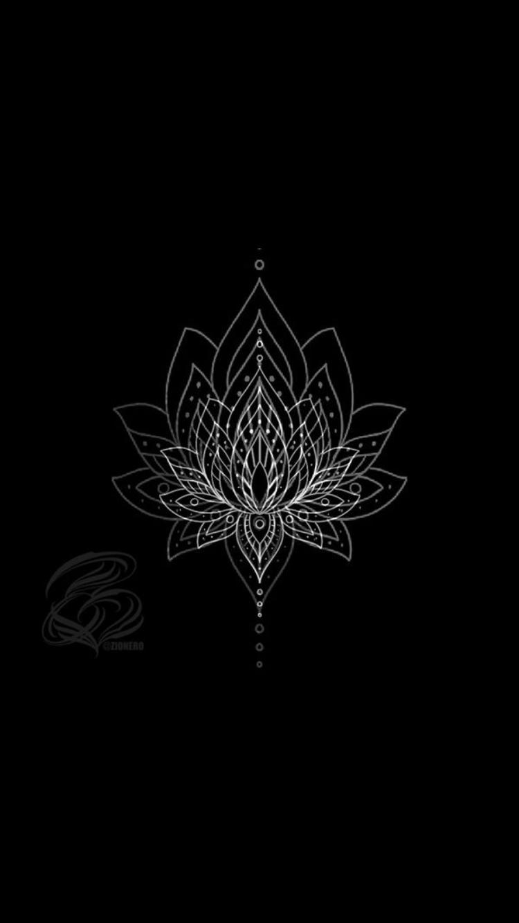 Musa Akkaya Duvar Kagidi Black Aesthetic Wallpaper Mandala Wallpaper Art Wallpaper