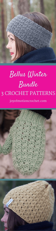 Bellus winter bundle easy intermediate crochet patterns bankloansurffo Choice Image