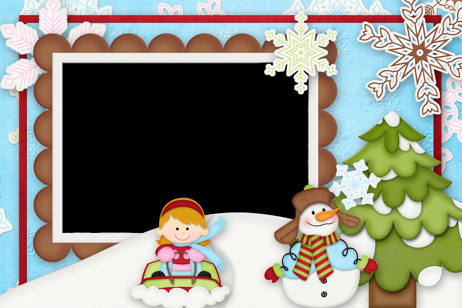 Marcos de navidad infantiles plantillas recursos y m s - Decorativos para navidad ...