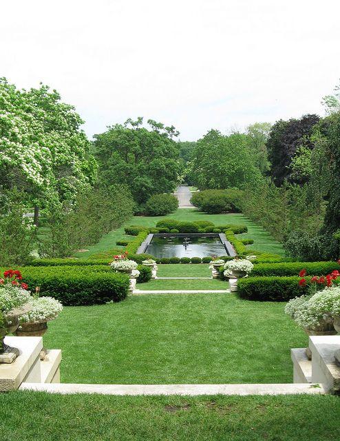Formal Garden at Cantigny | Wedding, Wedding venues and Weddings