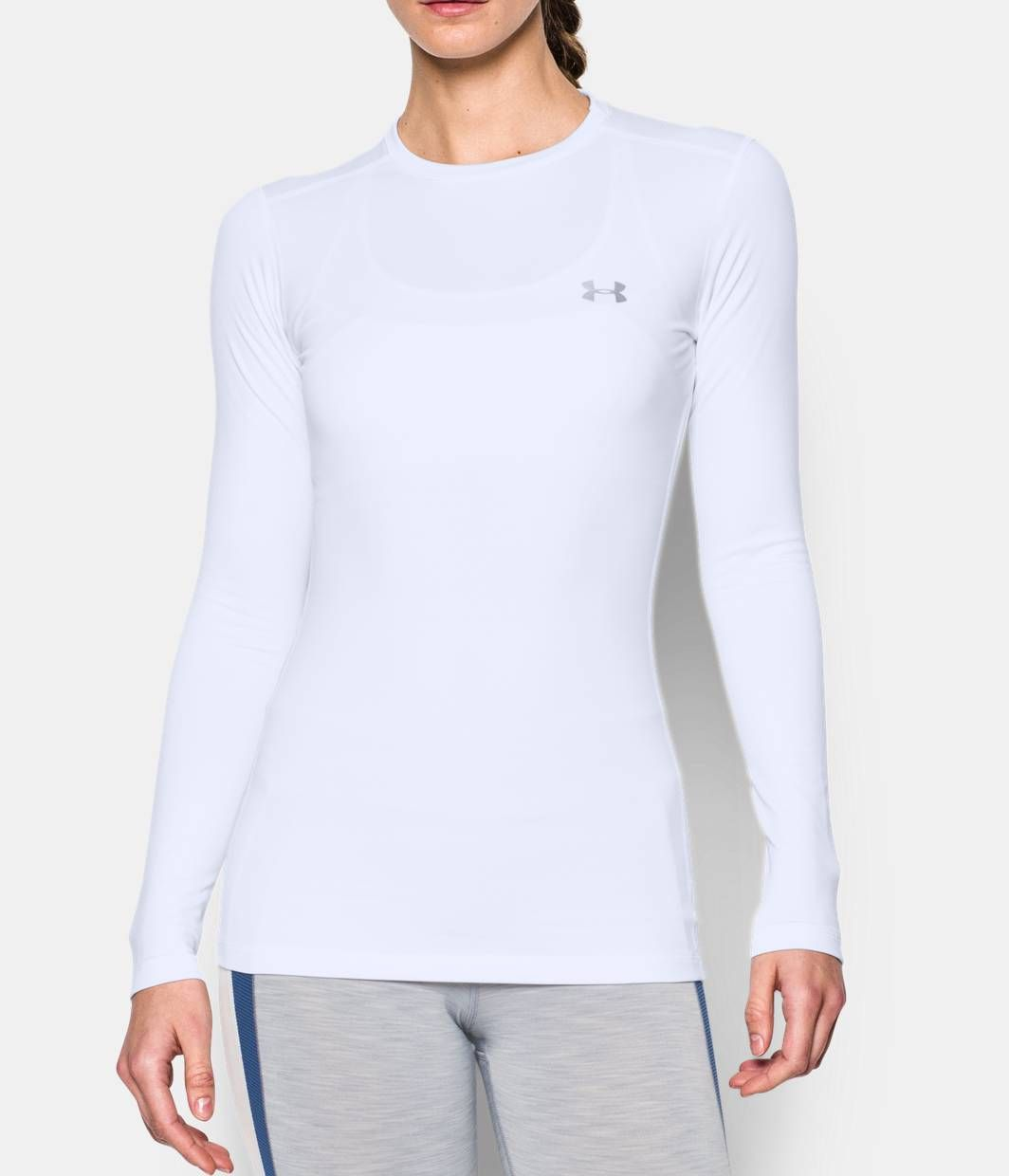 c17b59c6cc Women's ColdGear® Fitted Long Sleeve Crew | I For My Kids | Long ...