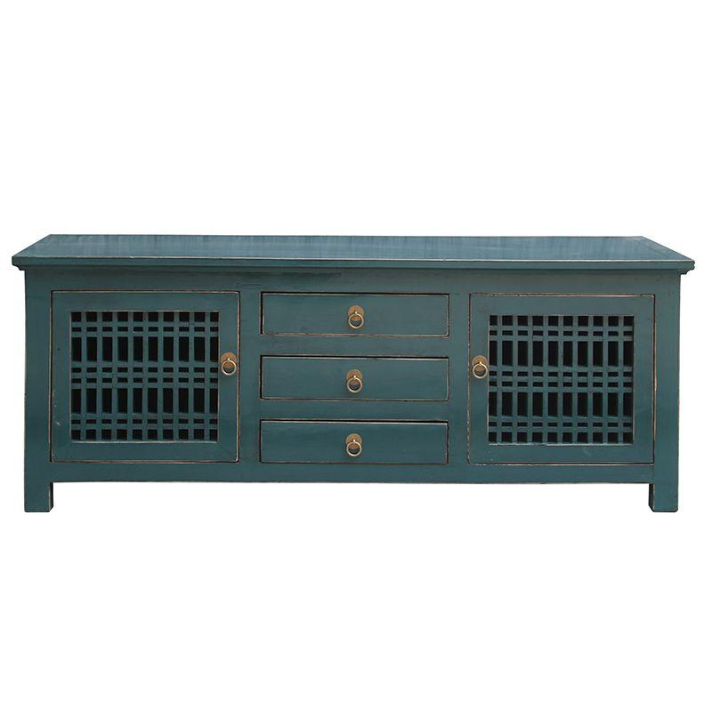 Antique Reproduction Furniture Wholesale Vintage Tv Stand U0026 Cabinet With  Lattice Wooden Door