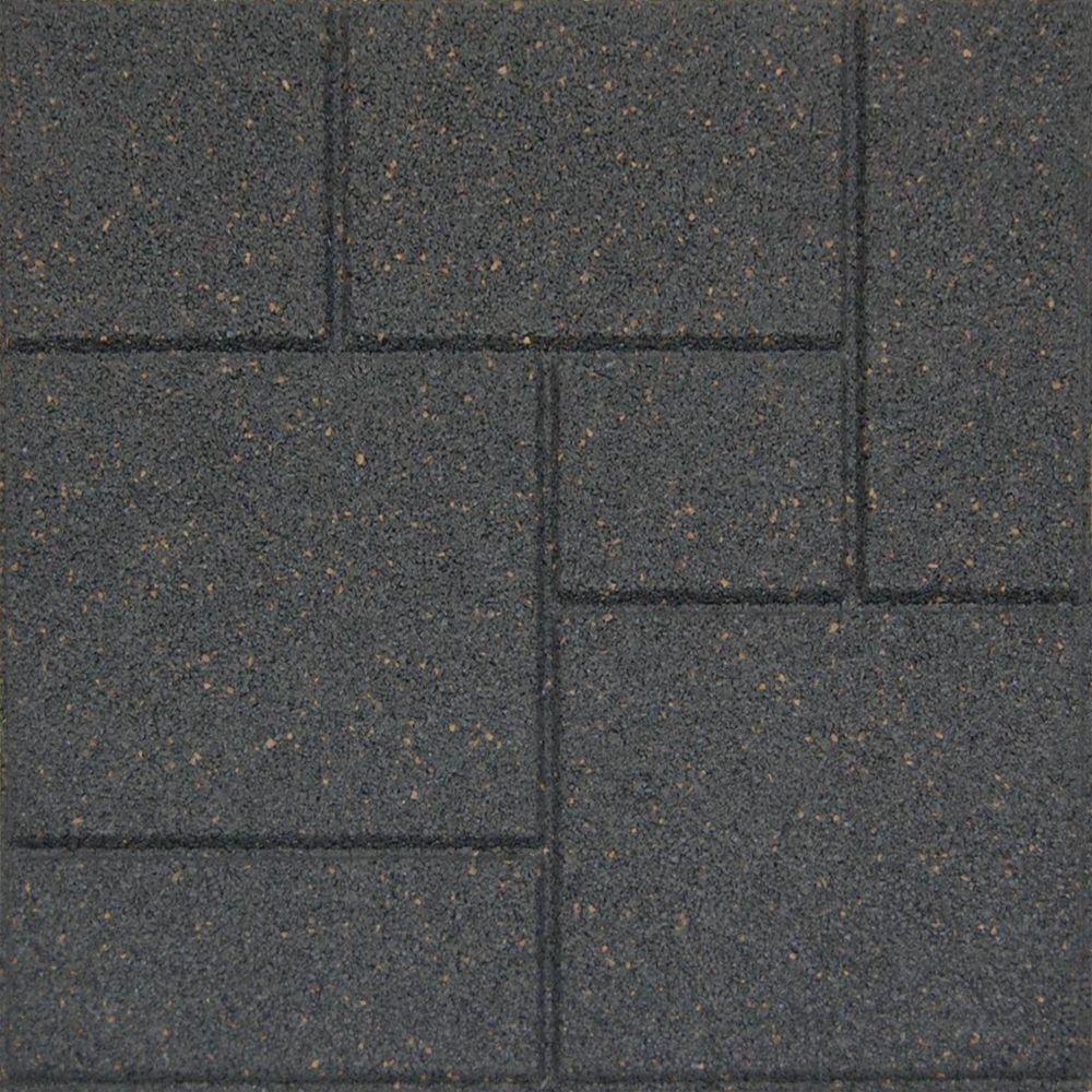 18x18 Inch EnviroTile Cobblestone Grey Remodel ideas