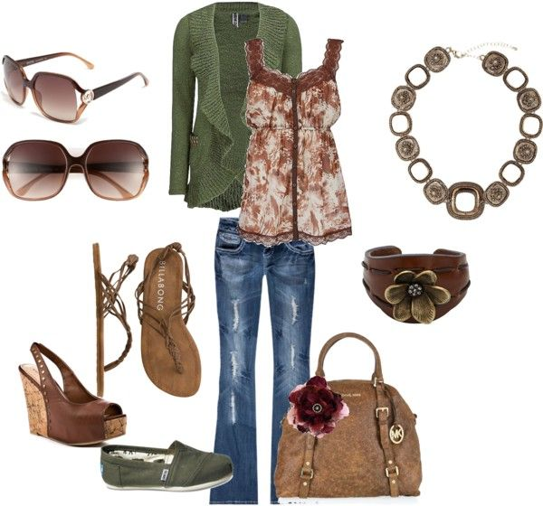 summer casual, created by ashley-olpin on Polyvore