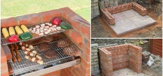 barbecue briques