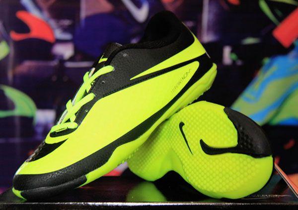 Jual Sepatu Futsal Nike Hypervenom Birumuda Stabilo Sport Shoes
