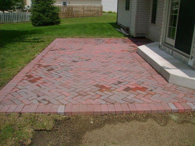 patios land design landscaping springfield il - Brick Patio Design Ideas