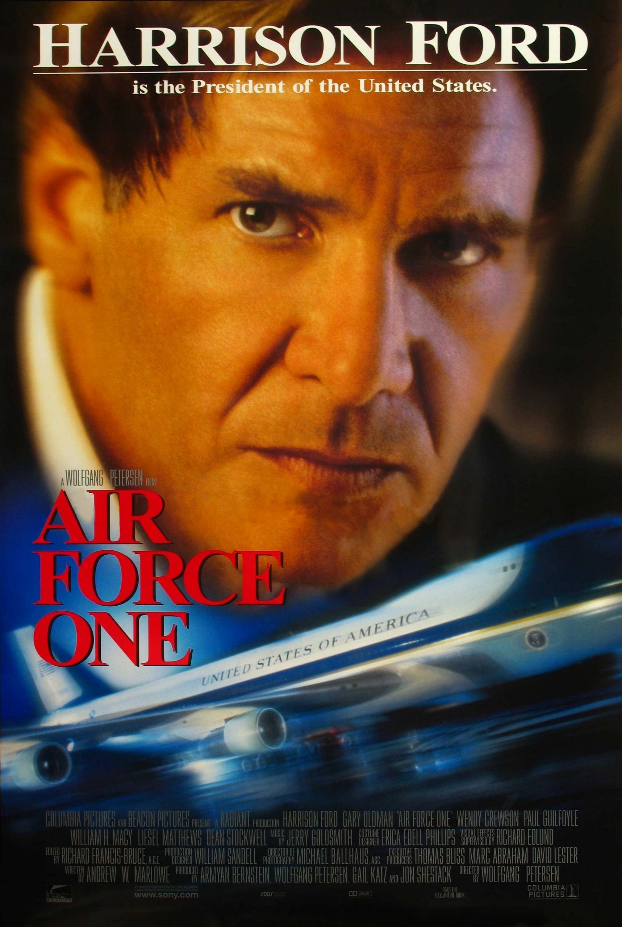 Image result for air force one movie poster