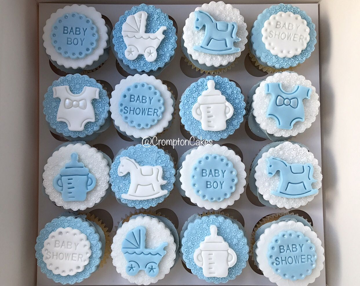 Baby Shower Cupcakes For A Boy Baby Shower Cupcakes For Boy