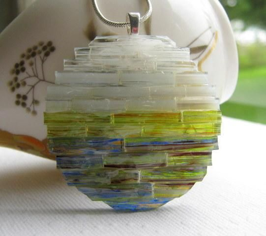 Fused glass pendant morning sunset delphi artist gallery fused glass pendant morning sunset delphi artist gallery mozeypictures Choice Image