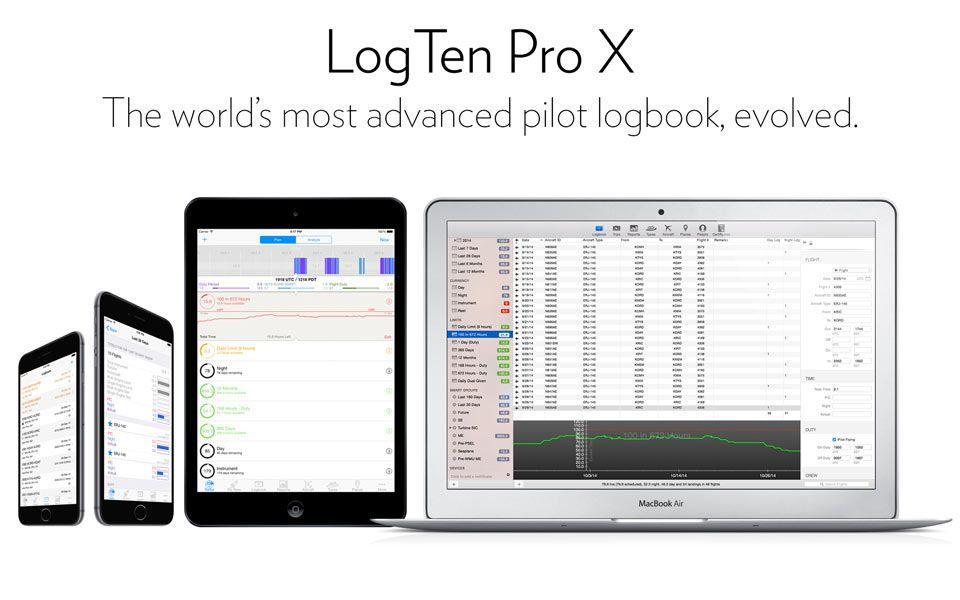 1a47cf254a2 LogTen Pro X