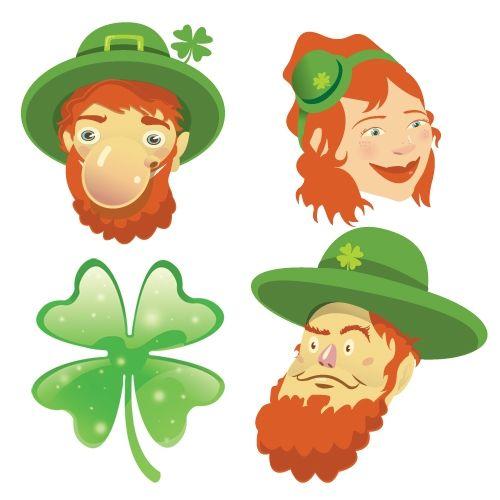 St. Patricks Day Wall Stickers_Leprechaun: SWC002 | Seasonal wall clings / wall decals