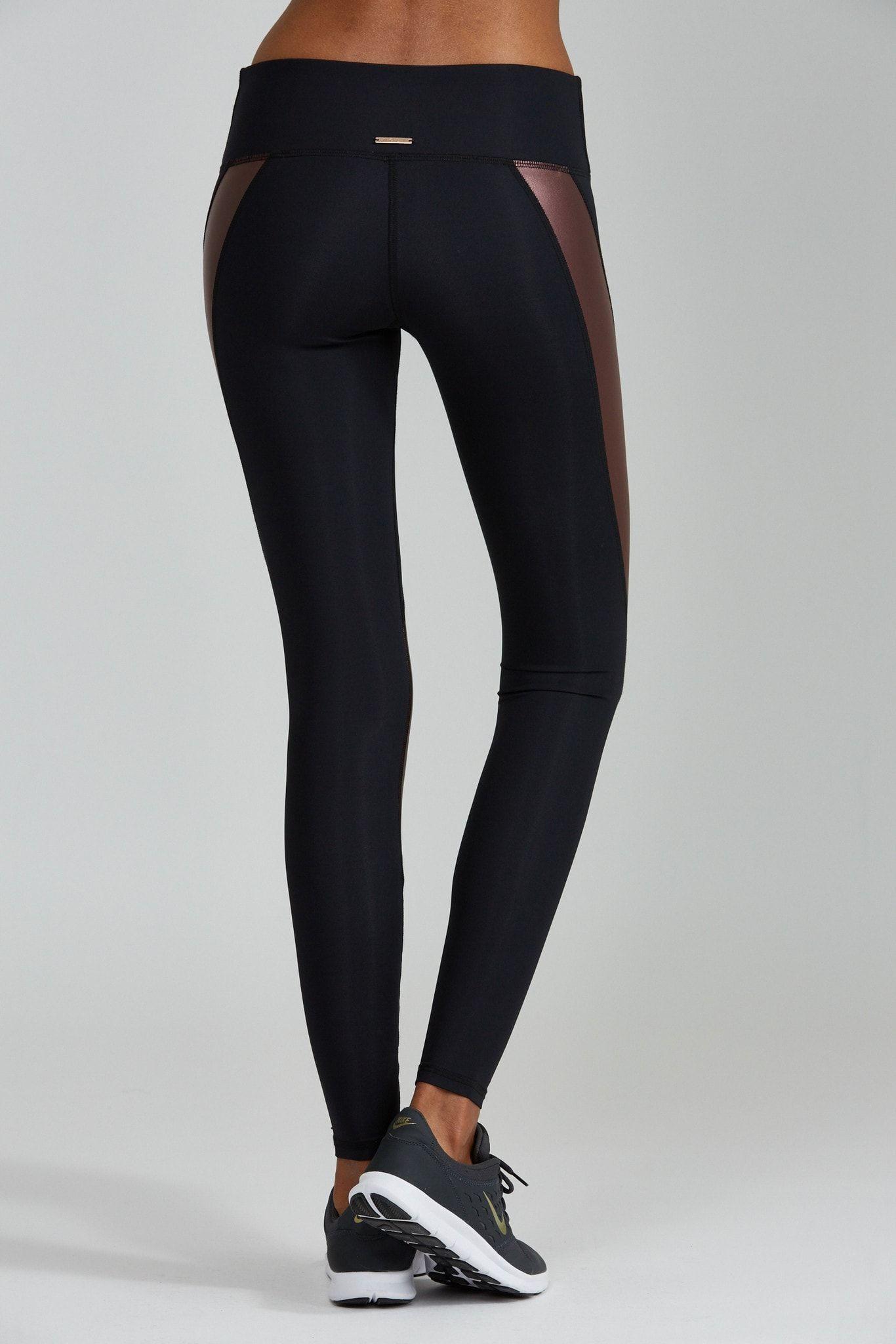 Allegra Legging - Vino - Nóli Yoga