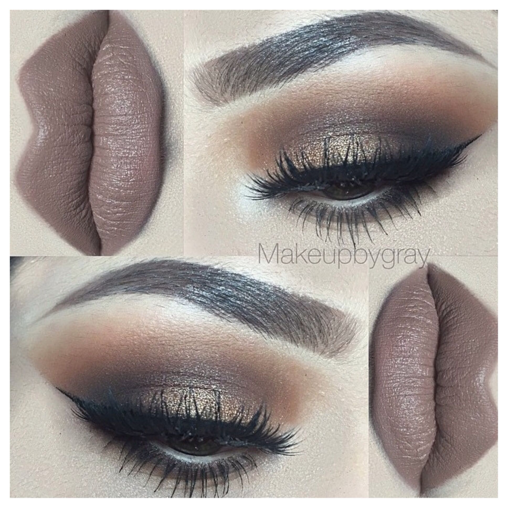 MAC COSMETICS Styled In Sepia Matte. Soft neutral brown