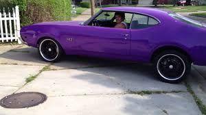 Image result for 1970 Oldsmobile 442 W30 Purple
