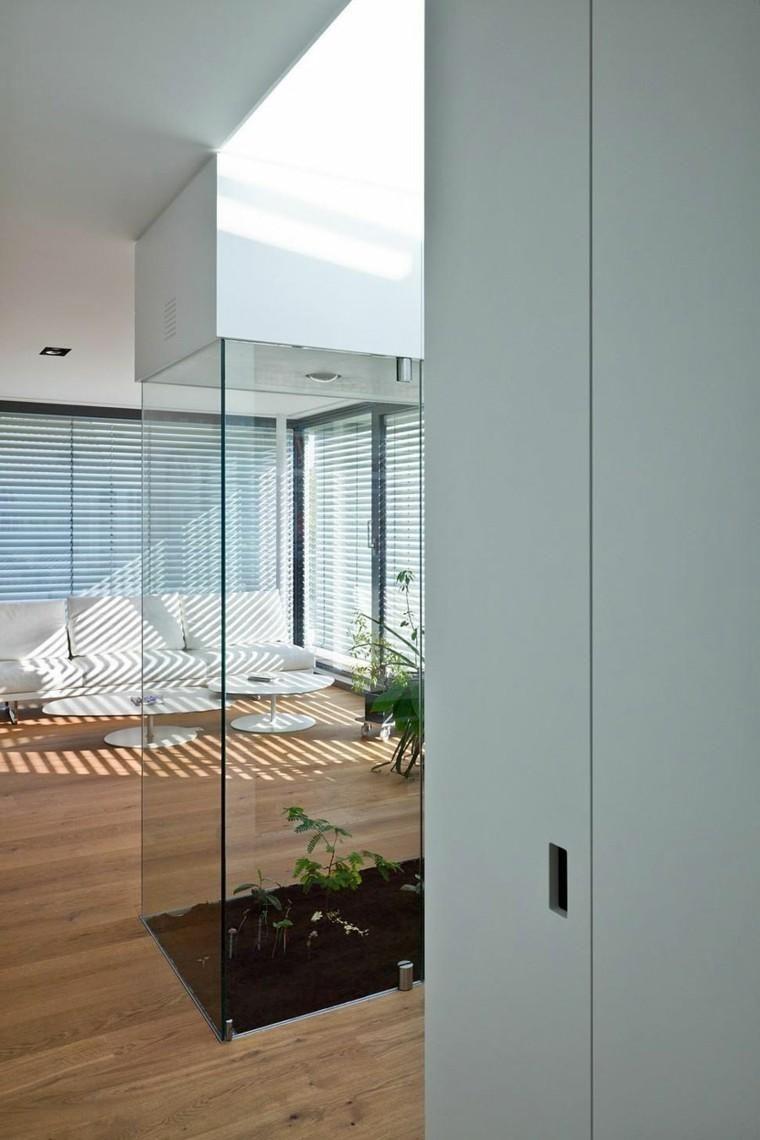 Innenhof - fünfzig moderne Ideen, um es zu dekorieren ...