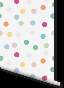 Milexa Polka Dot Wallpaper (playroom)