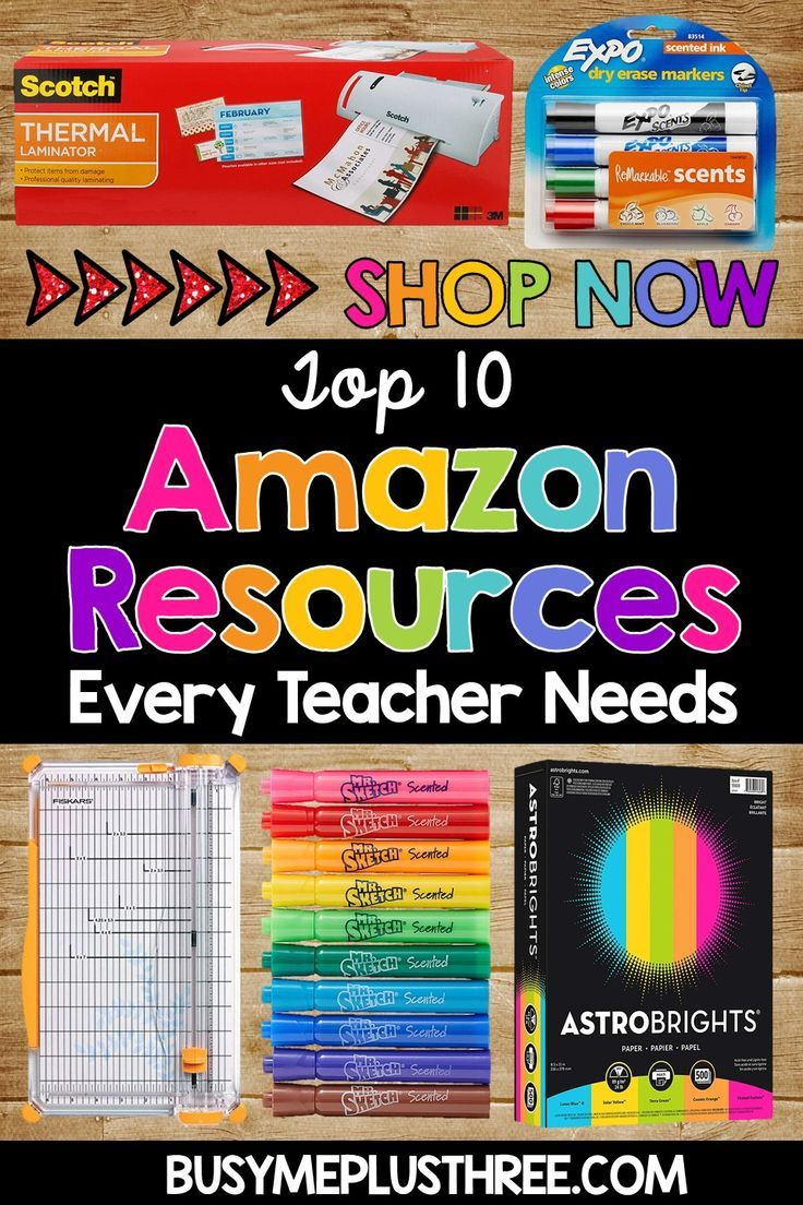10 Amazon Items Every Teacher Needs! - Busy Me Plus Three Are you looking for amazing classroom ite