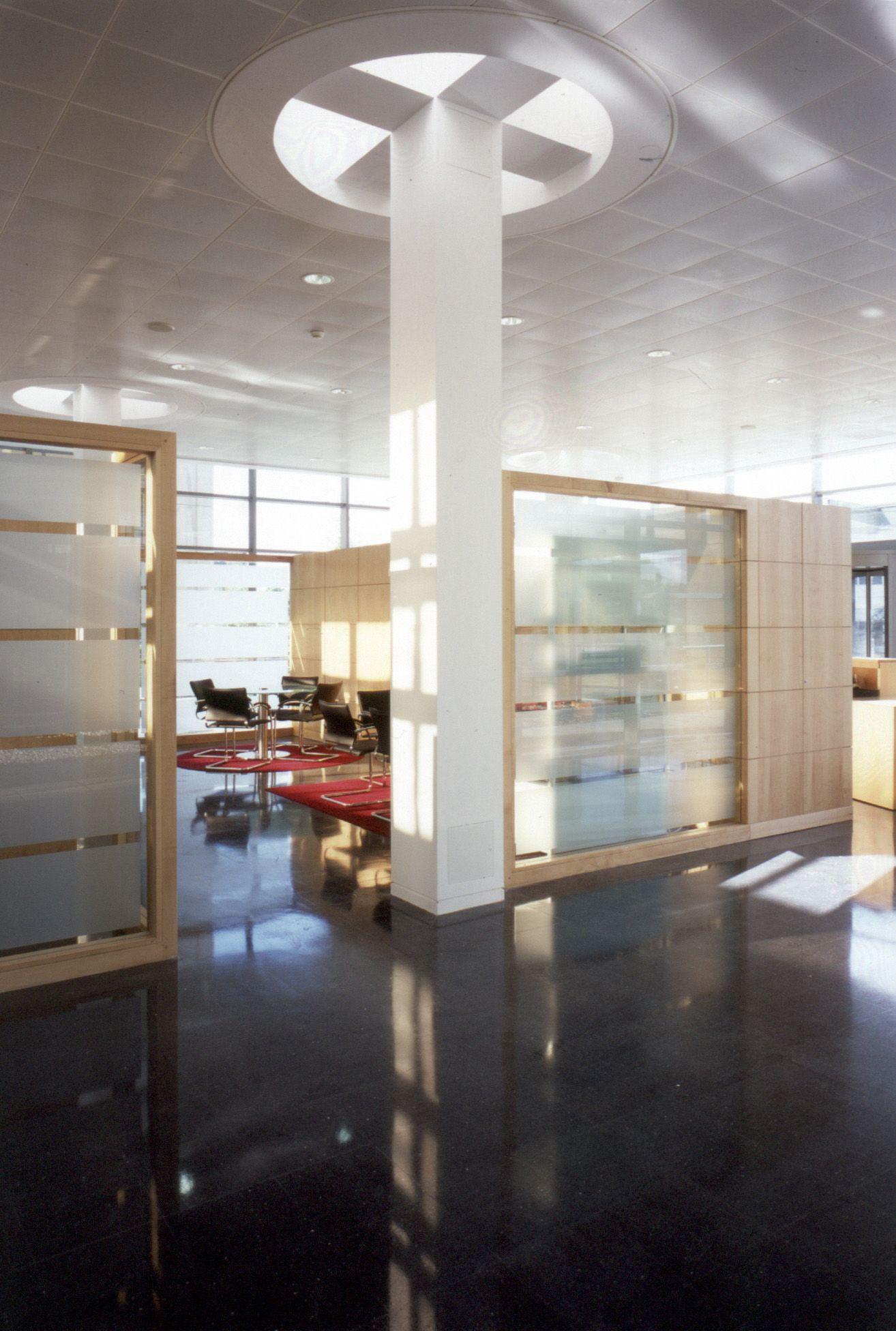 Siemens Bracknell | Modern office design | Workplace building ...