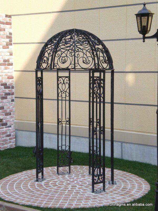 This is so beautiful iron garden arbor gate iron trellis FA005