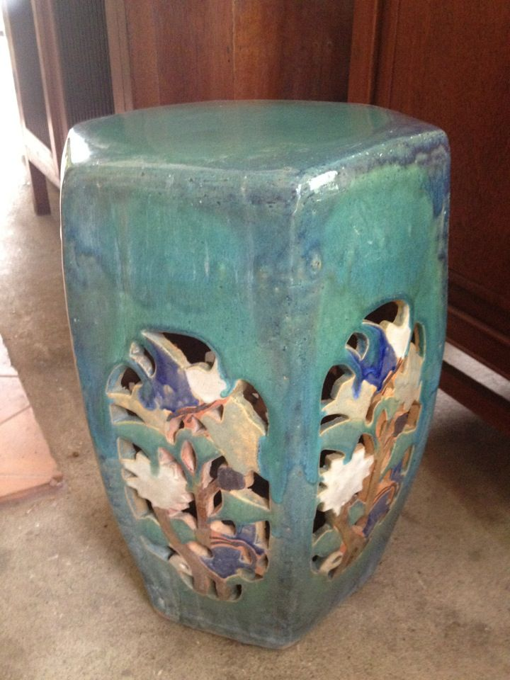 Antique Chinese Ceramic Stool Available At Www
