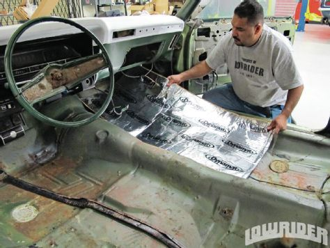 dynamat xtreme sound deadening material lowrider magazine my style pinterest jeep. Black Bedroom Furniture Sets. Home Design Ideas