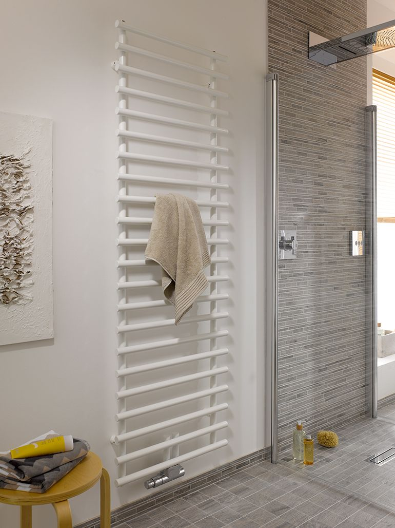 Vattenburen handdukstork Purmo Leros. | Towel warmers | Pinterest ...