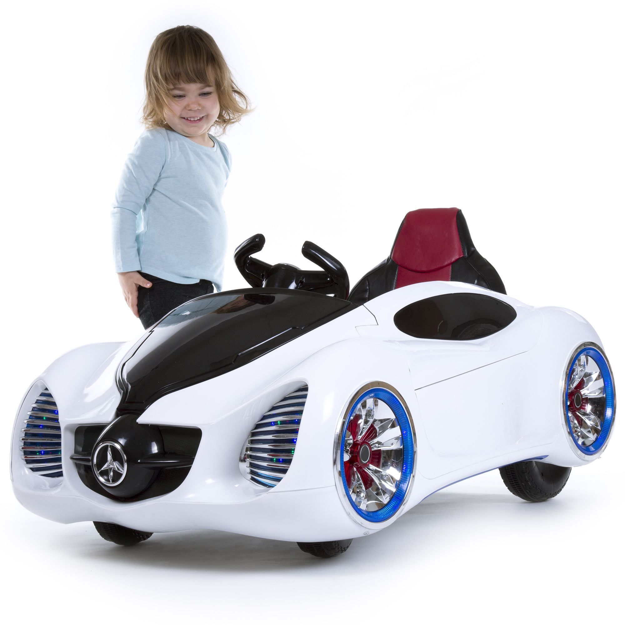Trademark Lil Rider Pre Embled 12v Battery Operated Sports Car