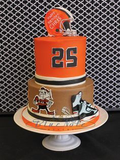 Cleveland Browns Cakes Images Google Search Football Treats