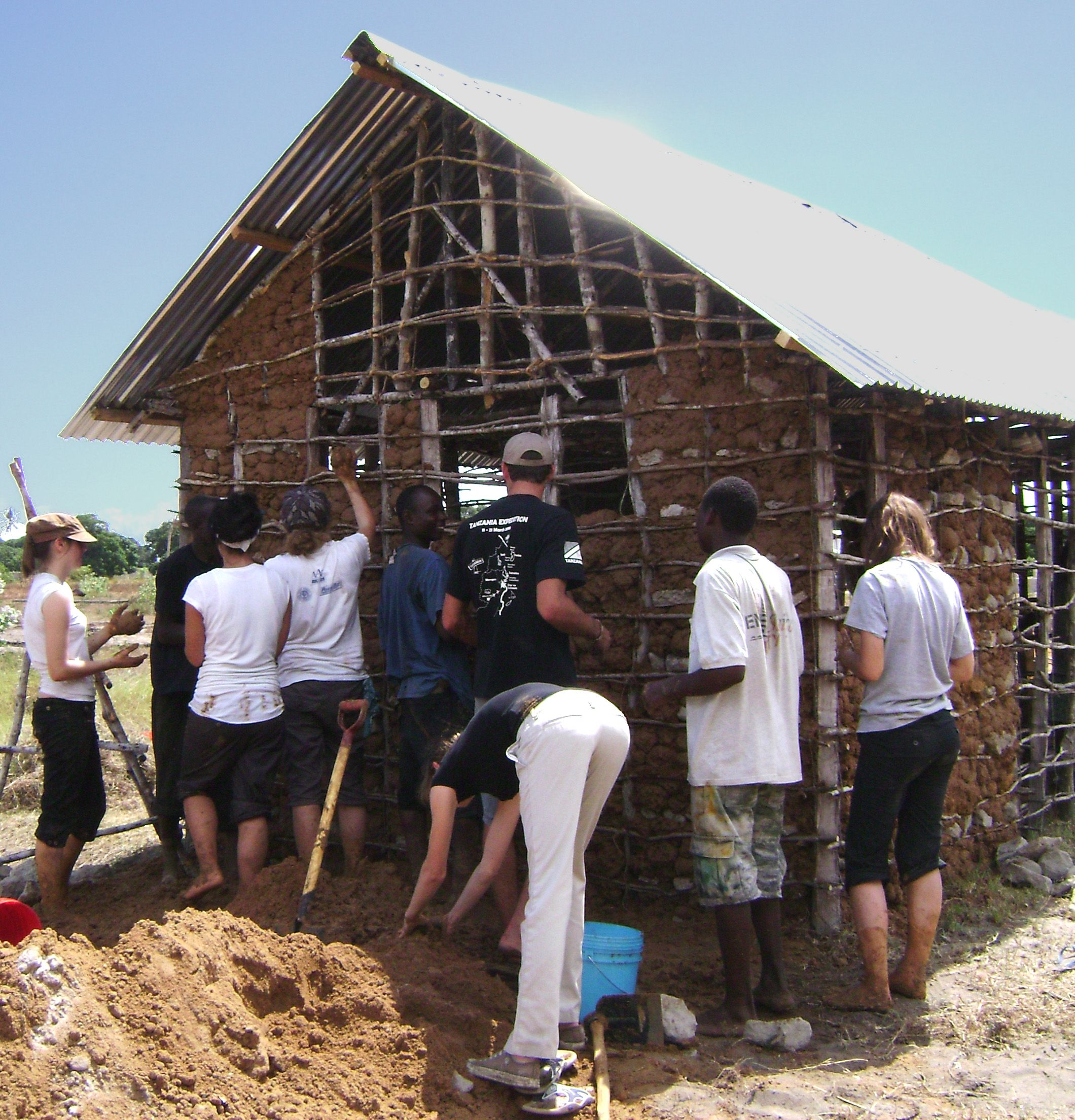 Charming Help Build A House In Africa
