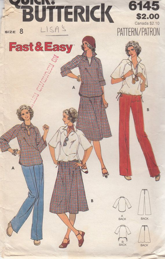 c6c0b94258 FAST and EASY Misses  Blouse Skirt and Pants by HoneymoonBus