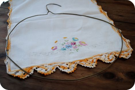 Photo of .:Crafting With Love: A Fabric Wreath Tutorial:.