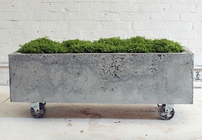 How To Make A Concrete Planter Bob Vila Diy Concrete Planters Concrete Planters Concrete Diy