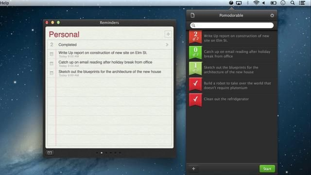 Pomodorable for OS X | Design - Apps + Mobile | Mac tips