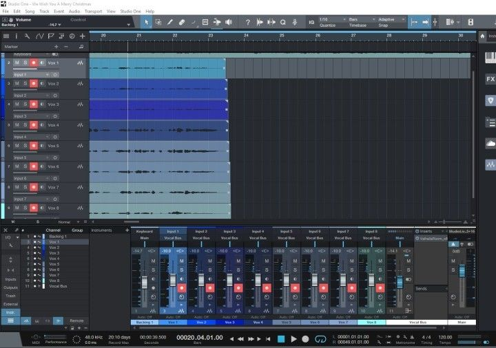 Audio Recording Software Presonus