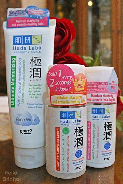 Review Hada Labo Gokujyun Series By Nihonmart Beauty Hello Efridha Hadalabo International Skincare Brands Japan Beauty