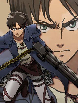 Eren Jaeger Attack on titan anime