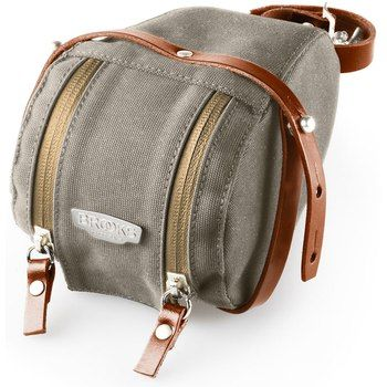 Bild von Brooks Isle of Wight Saddle Bag S Satteltasche - dove