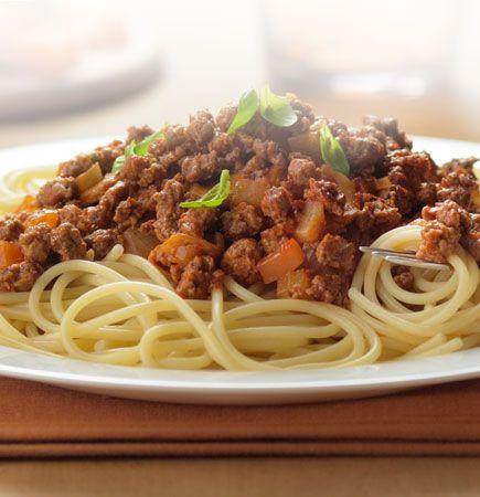 Quick Quorn Spaghetti Bolognese | Recipe | Spaghetti ...