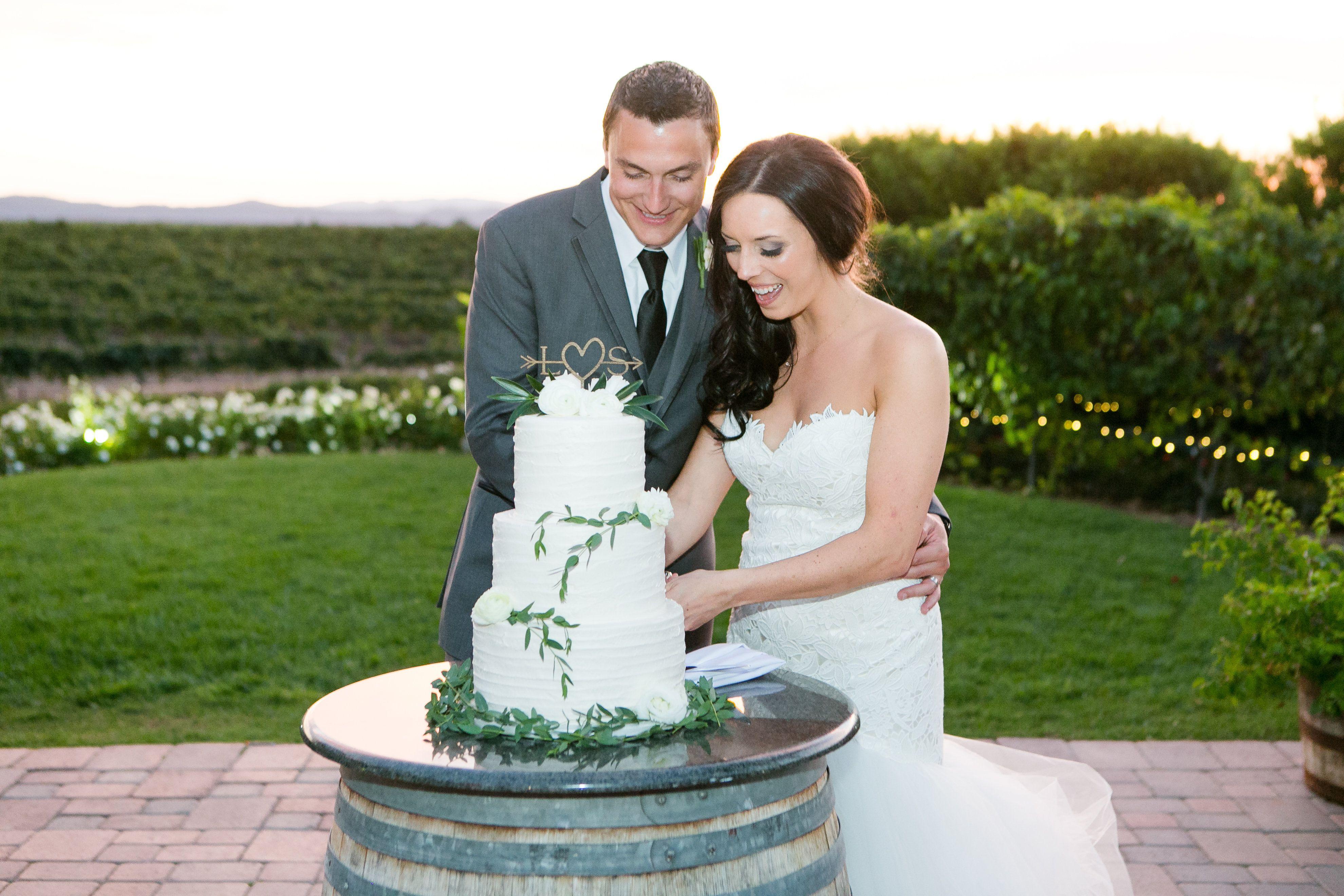 Pin by Villa de Amore California Weddings on Wedding Cakes