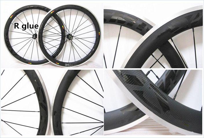 Alloy Brake Surface Wheels 50mm Wheelset Full Carbon Road 23mm Wide Bicycle Bike Wheels Black Novatec Hubs With Free G Road Bike Wheels Bike Wheel Bicycle Bike