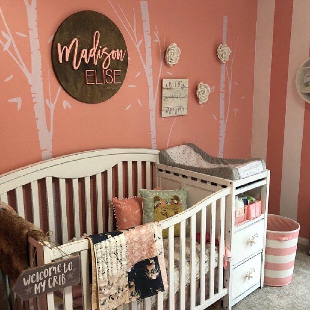Fawn Crib Bedding, Deer Quilt Girl, Crib Bedding Girl
