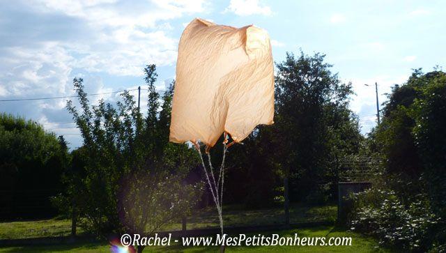 parachute en sac plastique