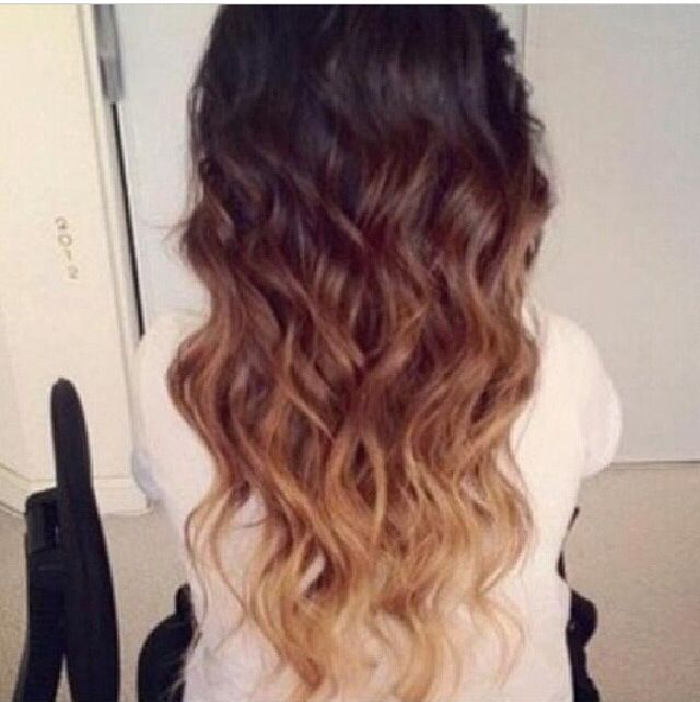 I doing this to my hair