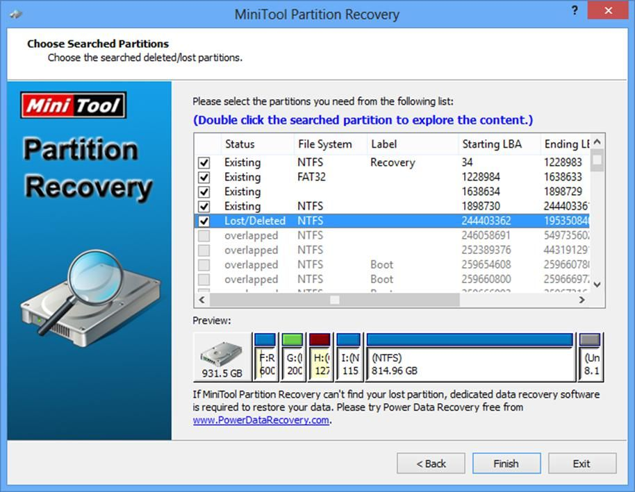 recover deleted partition windows 8