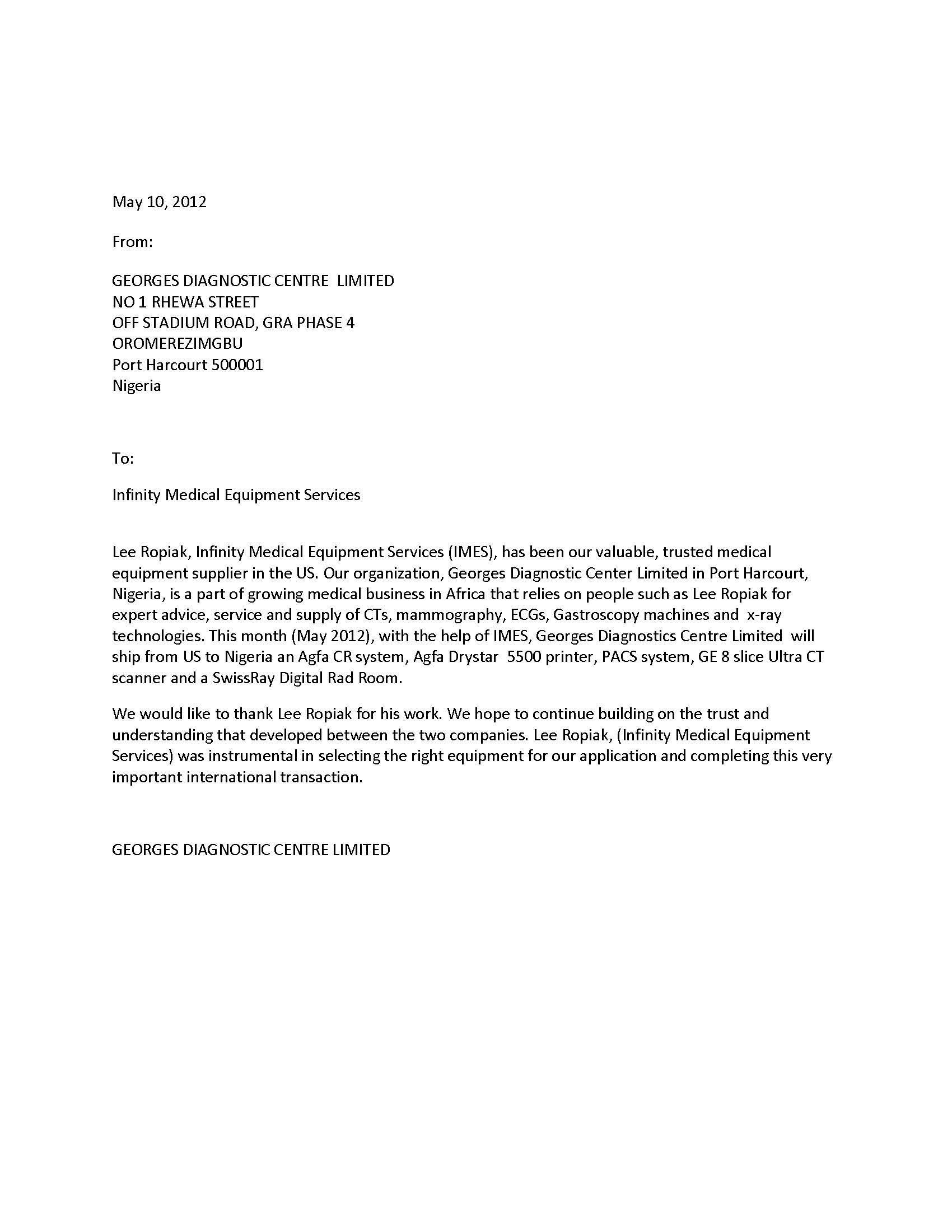 Bag Handler Cover Letter Electronic Test Engineer Registered Nurse Sample  Nigerianreferences Nursehtml
