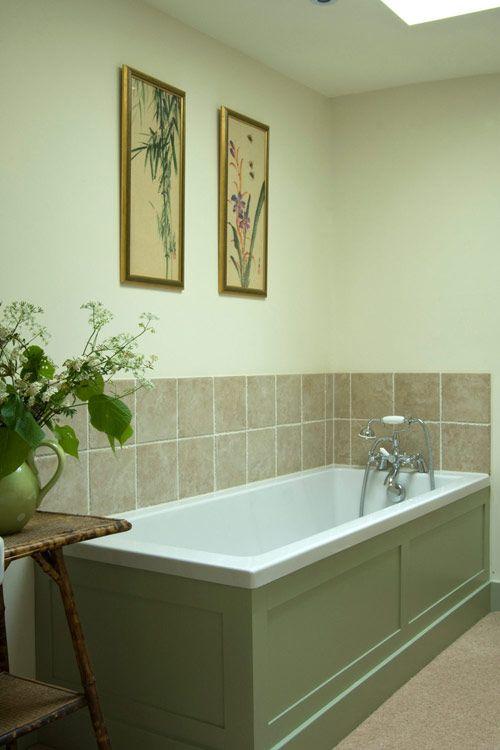 Not the bathroom though vert de terre by farrow ball - Eggshell paint in bathroom ...